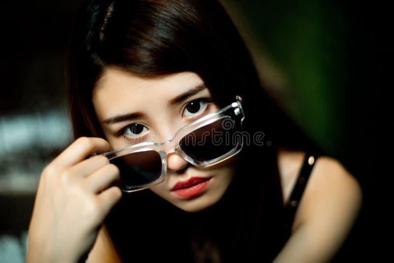 Una ragazza cinese fotografia stock