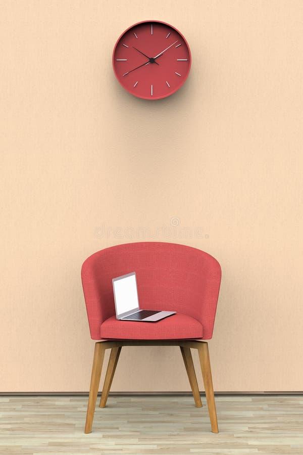 Una sala de espera imagenes de archivo