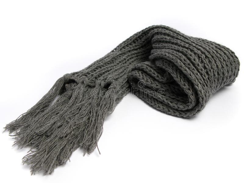Una sciarpa fatta di di lana fotografia stock libera da diritti