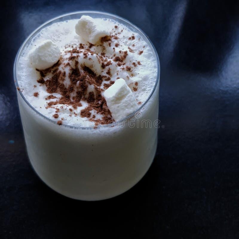 Una scossa del bicchiere di latte immagine stock libera da diritti