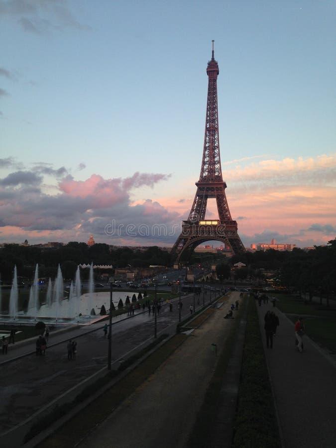 Una sera a Parigi immagini stock