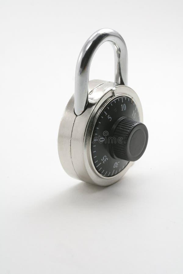 Una serratura di combinazione immagini stock libere da diritti