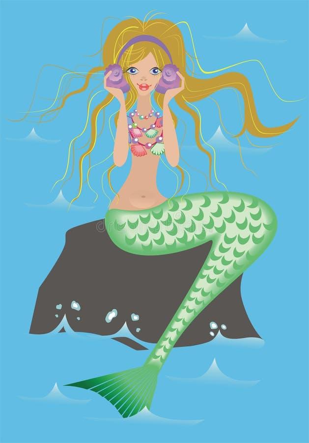 Una sirena royalty illustrazione gratis