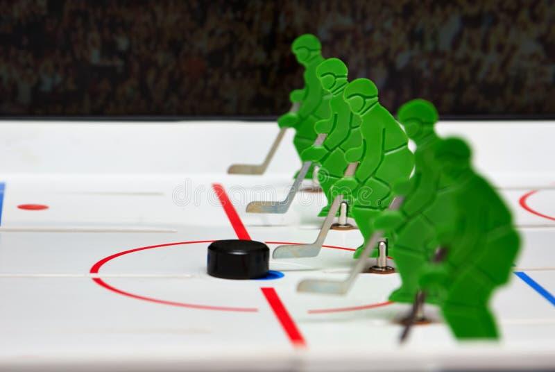 Una squadra di hockey fotografia stock