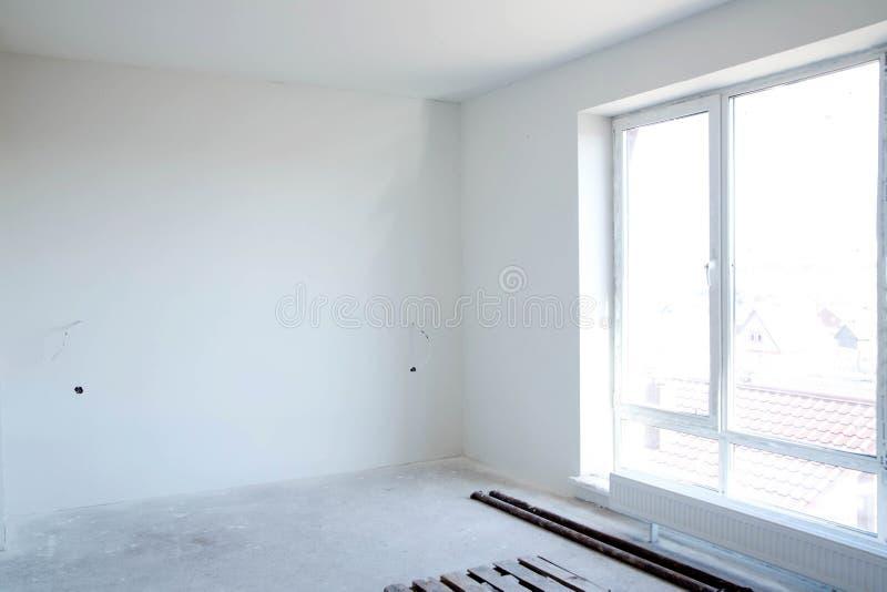 Una stanza vuota per le riparazioni future fotografia stock libera da diritti