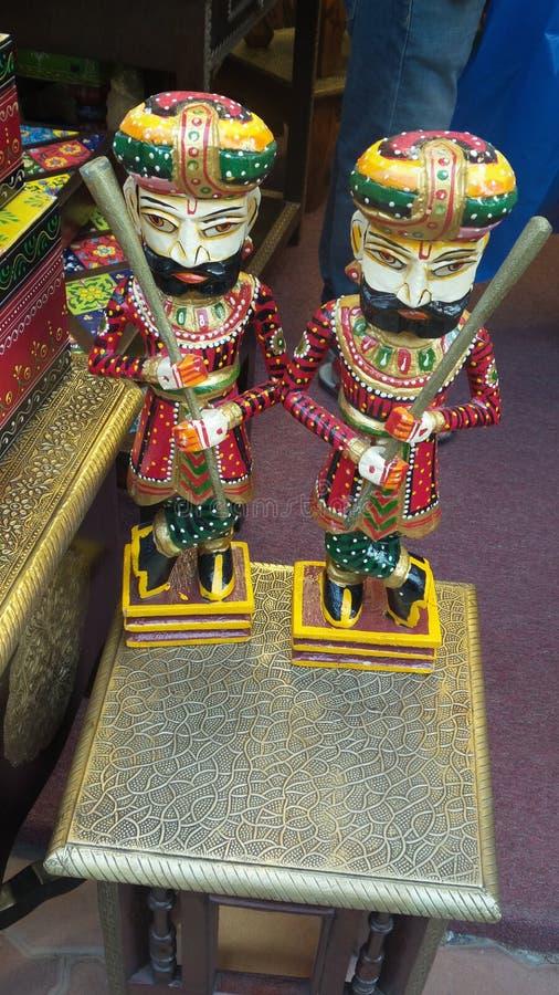 Una statua indiana tipica immagini stock libere da diritti