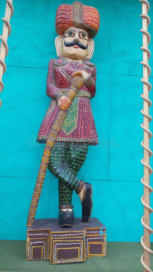 Una statua indiana tipica fotografie stock libere da diritti