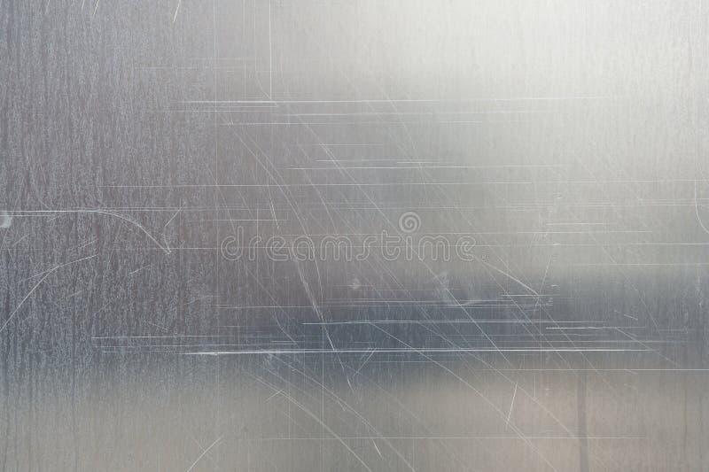 Struttura spazzolata del metallo immagini stock
