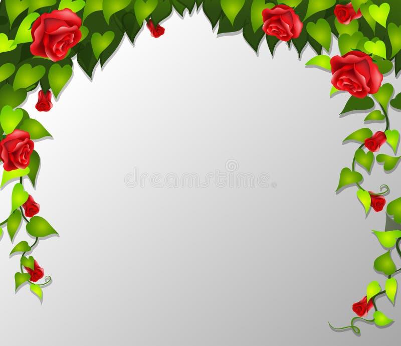 Una struttura della rosa rossa royalty illustrazione gratis