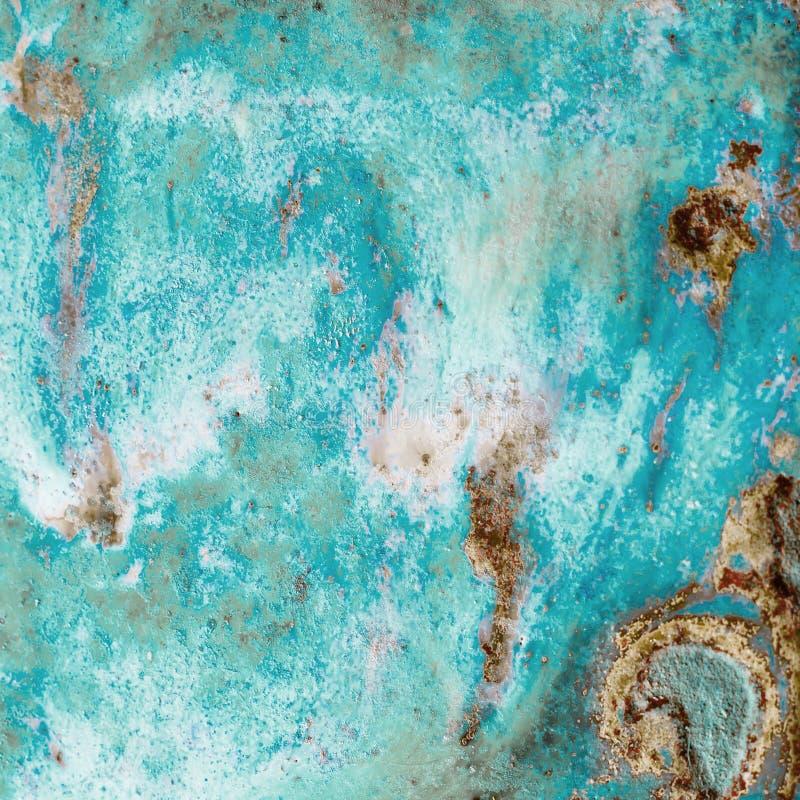 Una struttura luminosa astratta con i divorzi del colore di corallo candeggiato e del colore della sabbia crea un senso di irreal fotografie stock libere da diritti