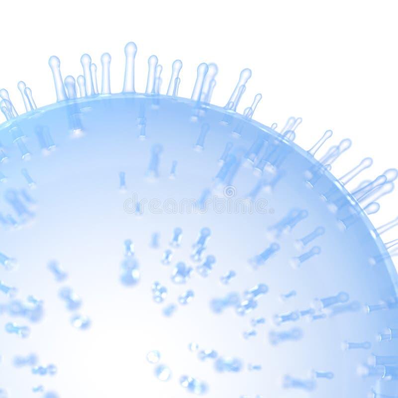 Una superficie delle cellule royalty illustrazione gratis