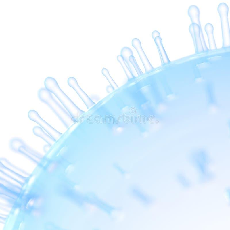 Una superficie delle cellule illustrazione vettoriale