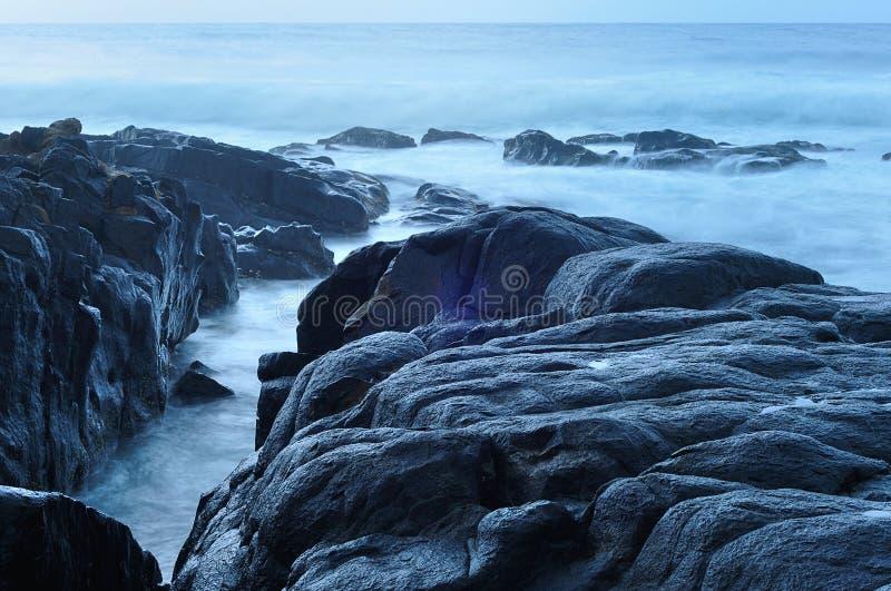 Una Suráfrica admitida paisaje marino fotos de archivo libres de regalías