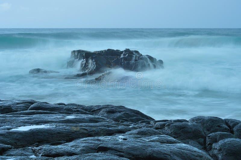 Una Suráfrica admitida paisaje marino fotos de archivo
