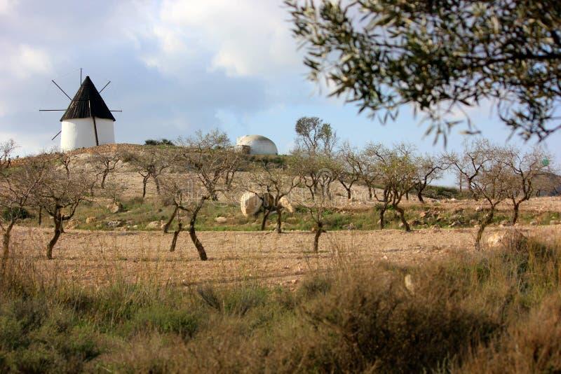Una tarde hermosa en España imagen de archivo libre de regalías