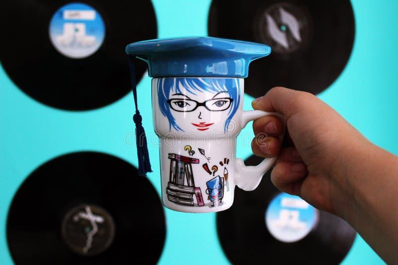 Una tazza immagini stock