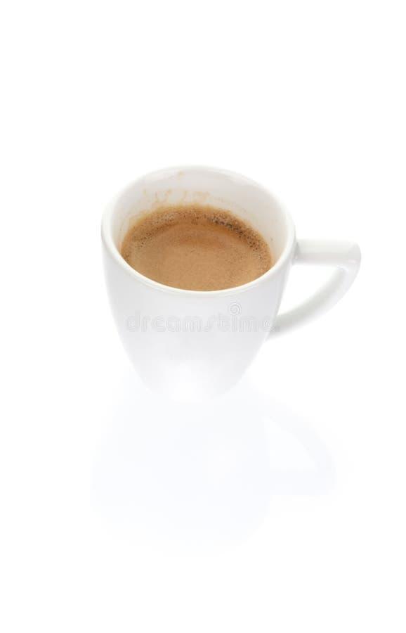Una tazza del caffè del caffè espresso fotografia stock libera da diritti