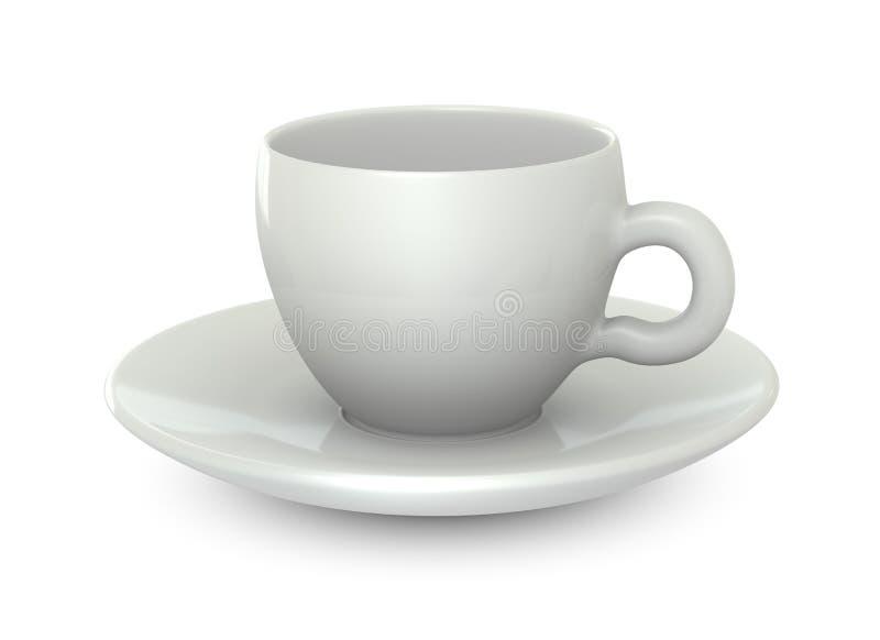 Una tazza di caffè illustrazione di stock