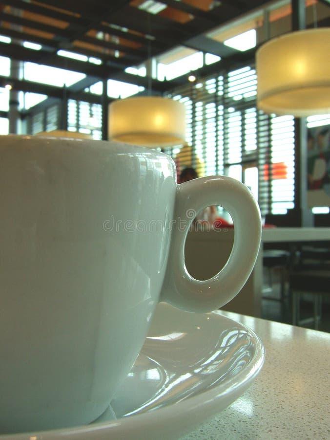 Una tazza di coffe fotografie stock libere da diritti