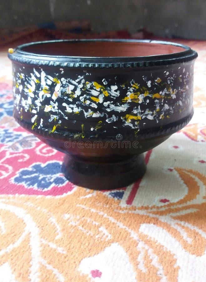 una tazza di tè di cultura antica fotografia stock