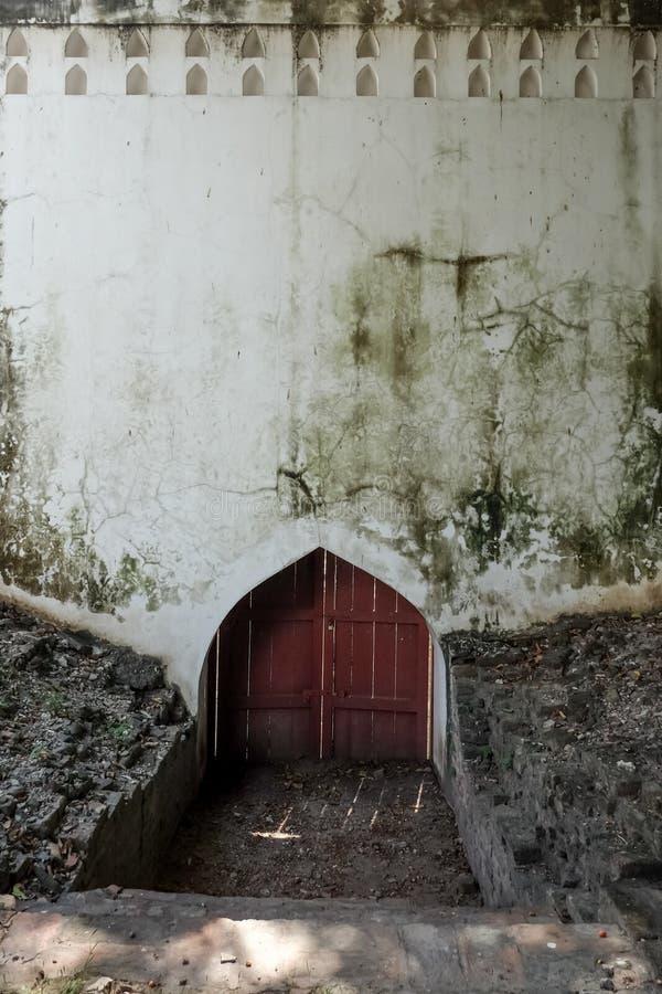 Una textura antigua del grunge de la pared de la pared fotografía de archivo