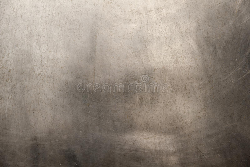 Textura cepillada del metal fotografía de archivo
