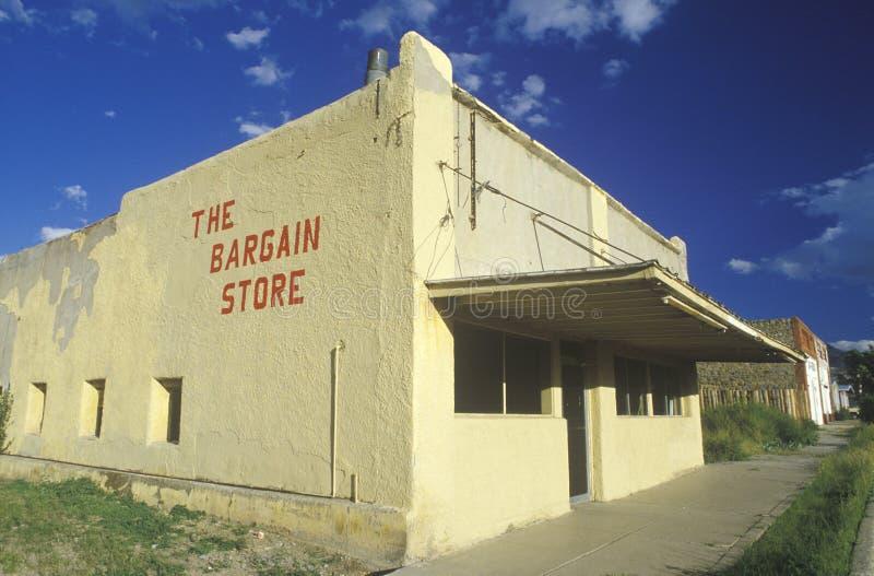 Una tienda abandonada del negocio, nanómetro fotos de archivo