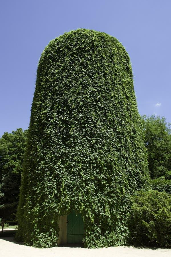 Una torre de agua fotografía de archivo