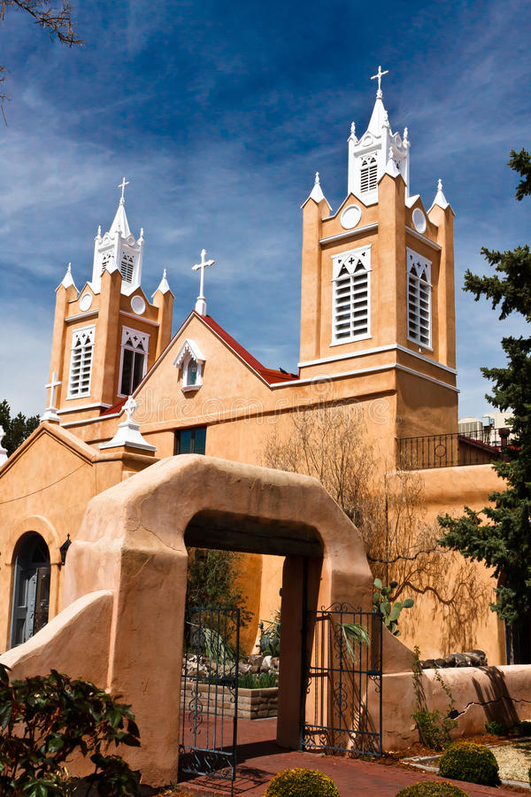 Una torretta di chiesa fotografia stock