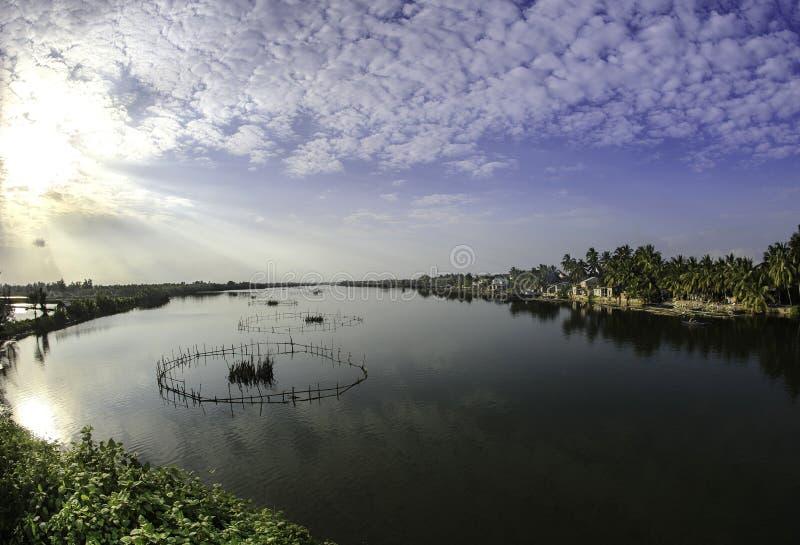 Laghi Hoi-an, Vietnam 6 fotografia stock