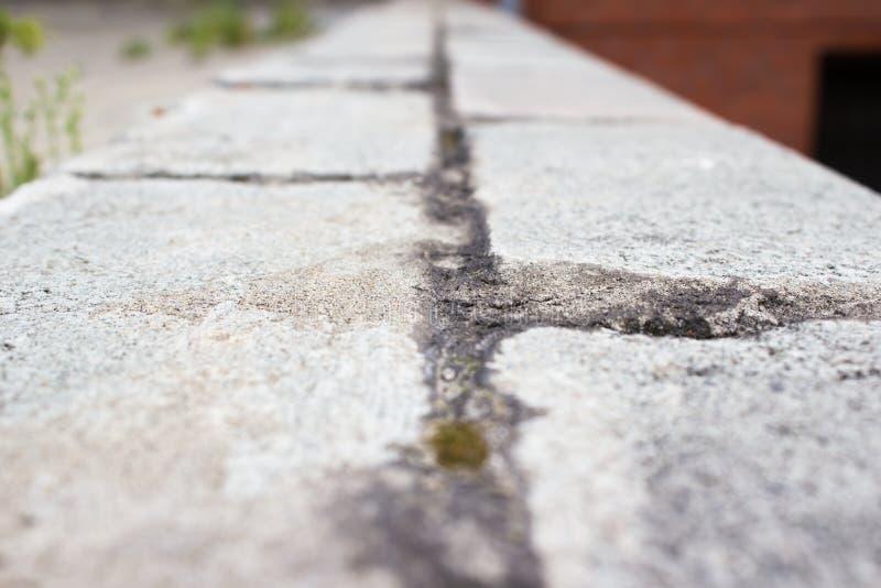 Una trayectoria que camina hecha foto de archivo