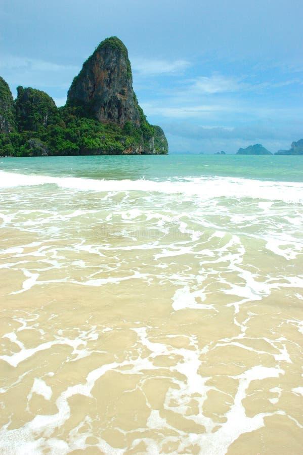 Una vacanza perfetta della spiaggia della Tailandia! fotografie stock