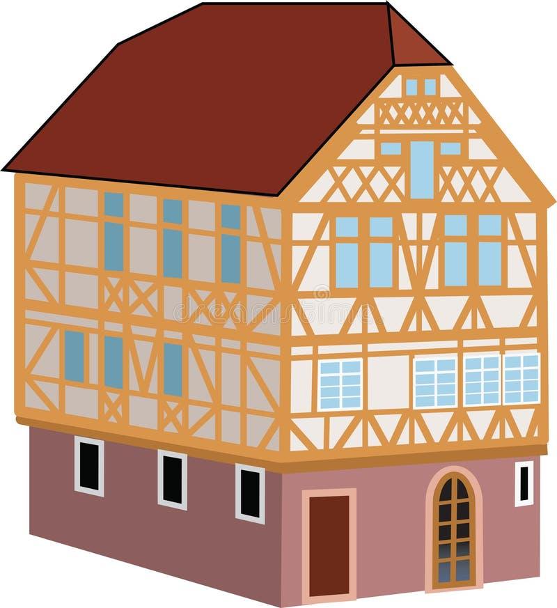 Una vecchia casa illustrazione vettoriale illustrazione di casa 88355013 - Rendere antisismica una vecchia casa ...