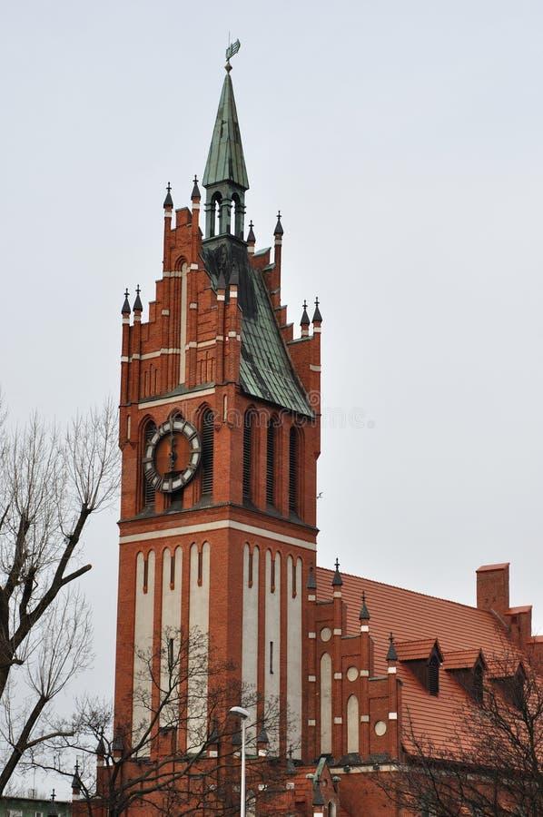 Una vecchia chiesa fotografie stock