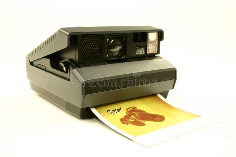Una vez que ésta era la cámara usted tuvo que tener. No es más. fotos de archivo libres de regalías