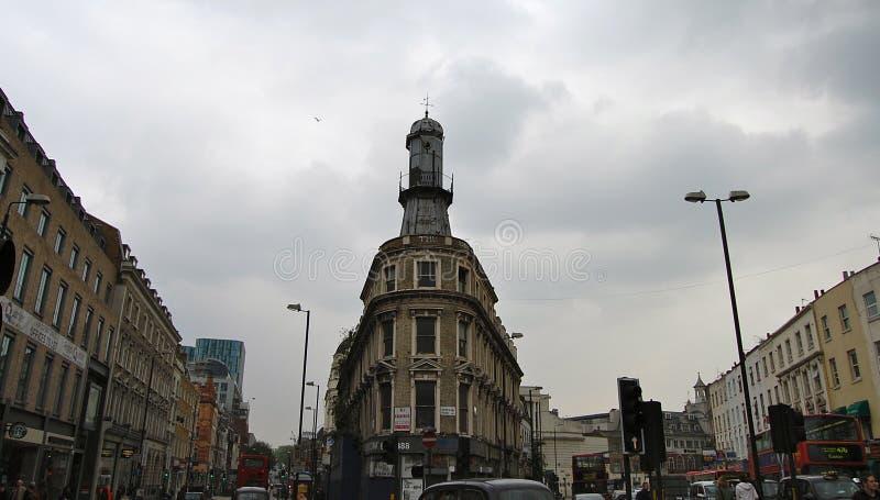 Una via di Londra immagine stock