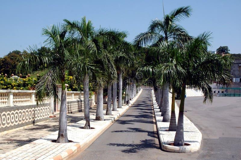 Una visión en la ciudad de la película de Ramoji - Hyderabad imagenes de archivo