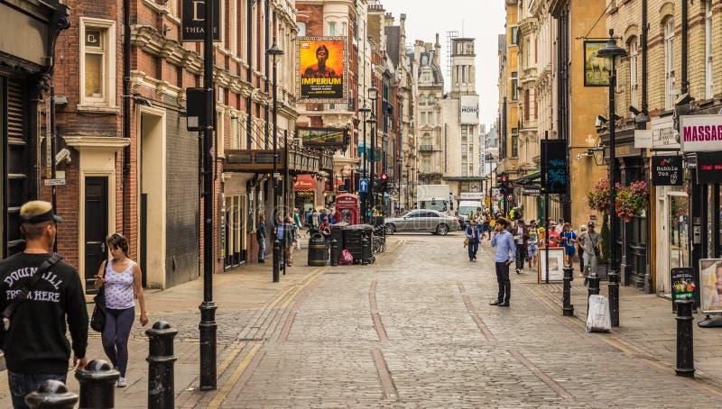 Una visión típica en Londres imágenes de archivo libres de regalías