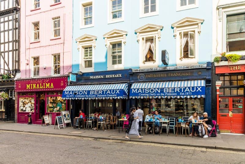 Una visión típica en Londres fotografía de archivo libre de regalías