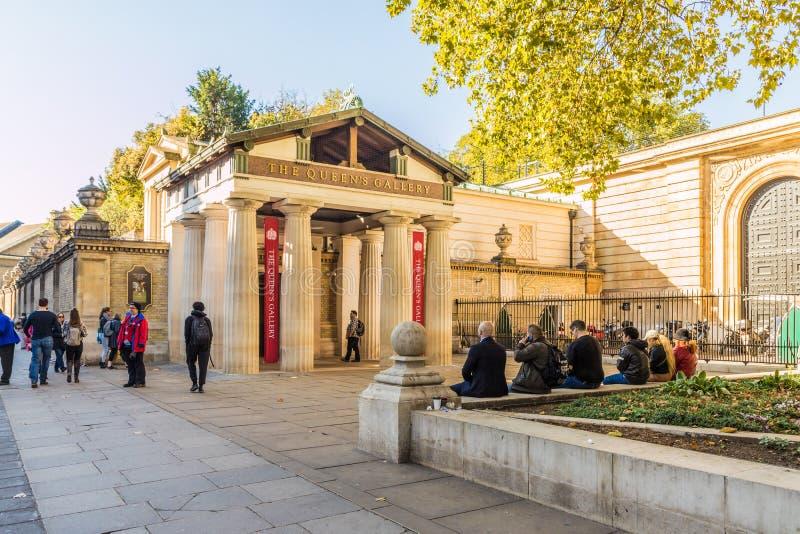 Una visión típica en parque verde en Londres imágenes de archivo libres de regalías