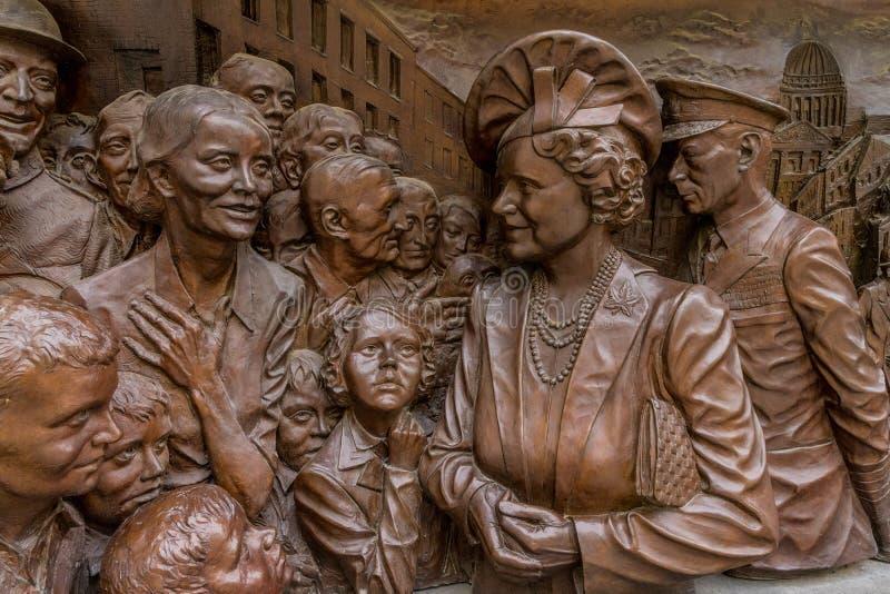 Una visión típica en Westminster en Londres imágenes de archivo libres de regalías