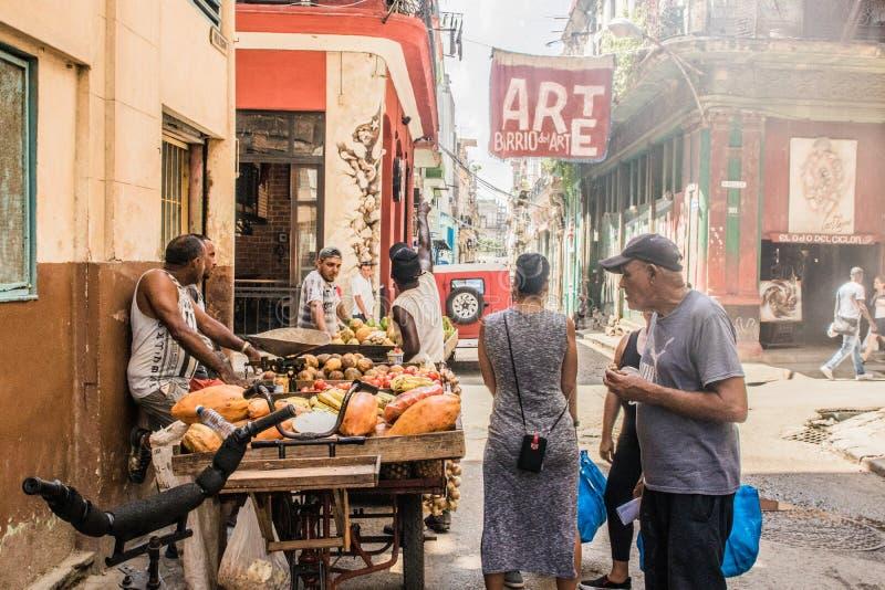 una visita de la tarde a La Habana fotografía de archivo libre de regalías