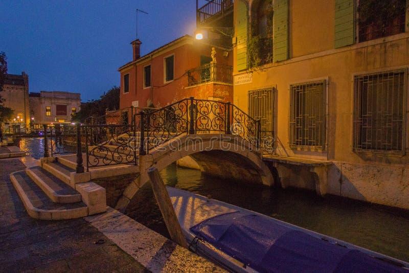 Una visita di Venezia quando i turisti non sono là fotografia stock libera da diritti