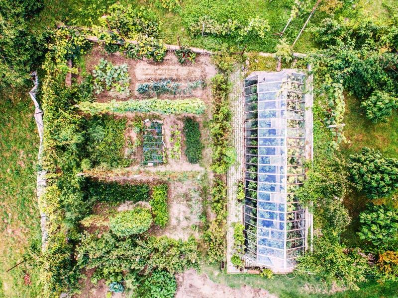 Una vista aérea de una asignación foto de archivo libre de regalías