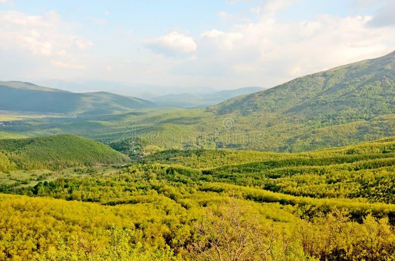 Una vista ad una valle immagini stock libere da diritti