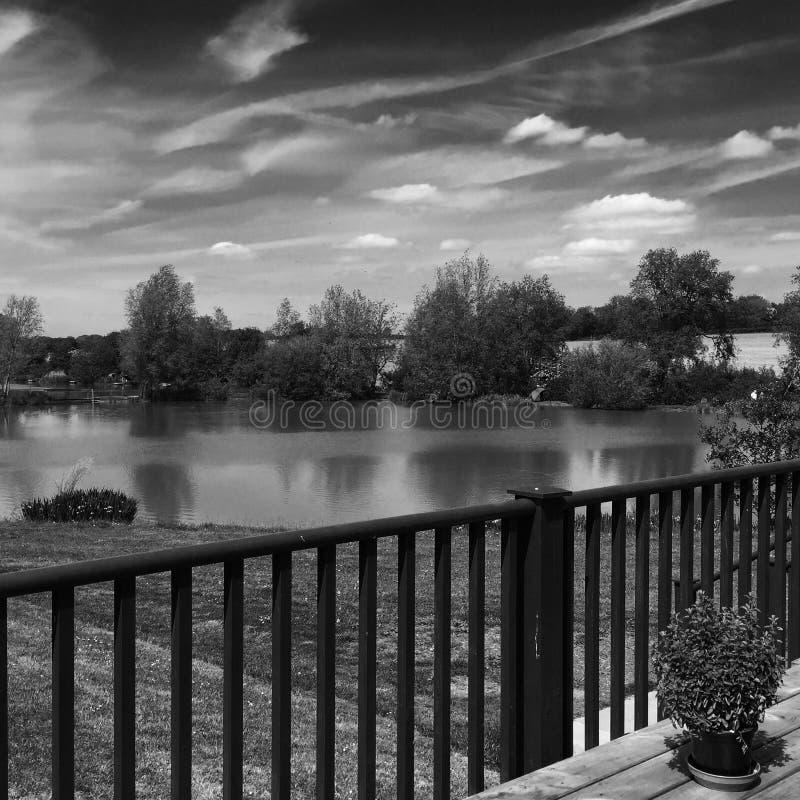 Una vista altra i laghi fotografia stock
