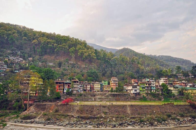 Una vista de Darjeeling fotos de archivo