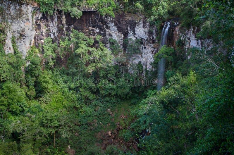 Una vista de Salto Encantado en la provincia de Misiones de la Argentina foto de archivo libre de regalías