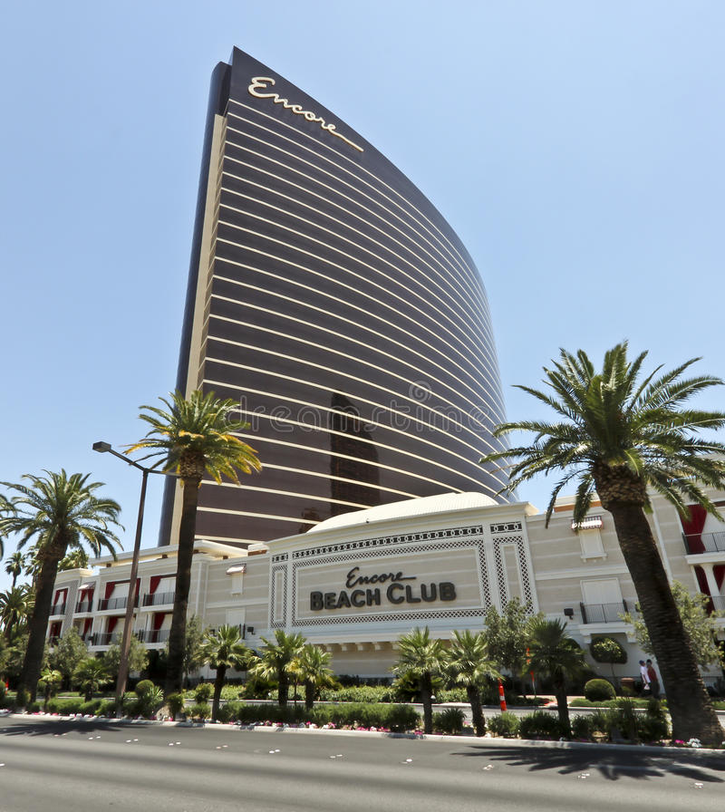 Una vista del bis a Las Vegas, Nevada immagine stock libera da diritti