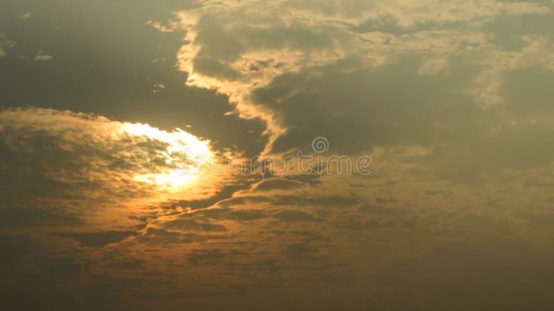 Una vista del cielo hermoso fotografía de archivo